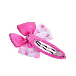 Cute Baby Toddler Girls Bowknot Party Hair Bows Flowers w Snap Clips Photos