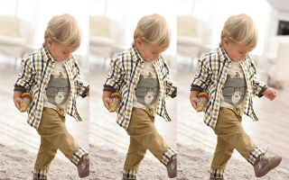 Baby Boys Girls Kids Long Sleeve Coat T Shirt Pants Clothing Outfits WHM
