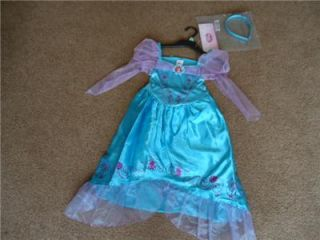 BNWT Disney Princess Ariel Mermaid Dress Fancy Dress Outfit Dressing Up Costume