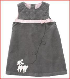Gymboree Poodle Baby Toddler Girls Clothing Dress