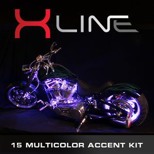 EFX x Line 15 Color SMD LED Accent Lights Harley Davidson Motorcycle Light Kit