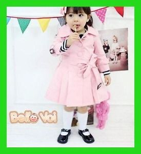 Warm Children Baby Girls Kids Casual Autmn Winter Jacket Coat Clothes Outerwear