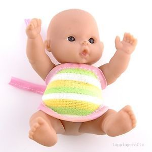 Precious Lifelike Polyethylene Reborn Lifelike Baby Doll with Clothes T8611