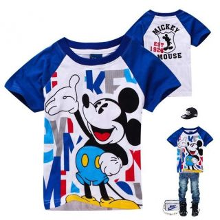 Baby Boys Tops Shirts T Shirts Kids Boys T Shirt Cartoon T Shirt H12 Size 3 8T