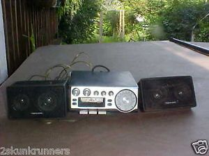 Vintage Pioneer KP 500 Car Cassette Player Radio 2 Speakers Realistic