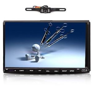 "Hot Saledouble DIN 7"" Car DVD CD  USB Player TFT Screen in Dash Stereo Radio"