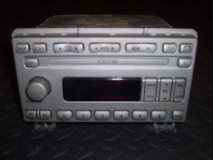 2005 Lincoln Navigator 6 Disc CD Changer Radio Stereo Deck Head Unit