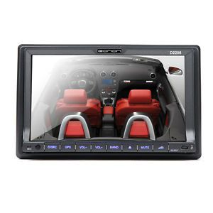 "Double 2 DIN 7"" in Dash Touch Screen Car Stereo DVD Player Radio Bluetooth iPod"