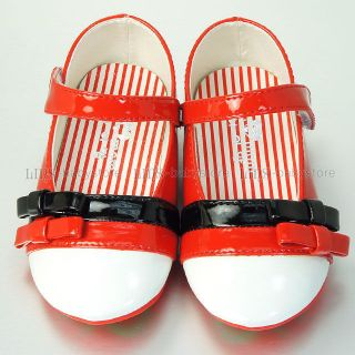 New Kids Toddler Girl Red Mary Jane Shoes Size 5 6 7 8