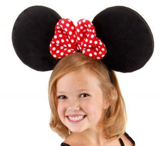 Disney Oversized Big Mickey Minnie Mouse Ears Headband Costume Hat Adult or Kids