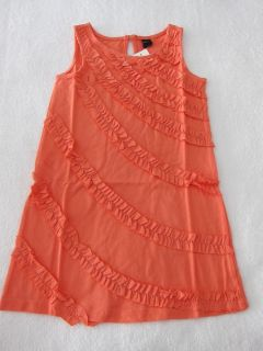 Baby Gap Coral Ruffle Dress 3T