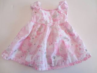 Old Navy Baby Girls Size 3 6 Months Spring Summer Floral Dress Pink Easter