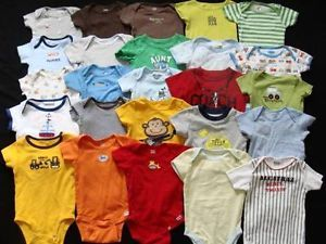 Baby Boy 6 9 9 12 Months Spring Summer Onesie Under Shirt Bodysuit Clothes Lot