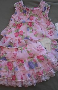 Infant Baby Girls Clothing Toddler 24 Months Koala Baby Pink Top Skirt