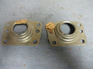 1960 1961 1962 1963 Corvair Rear Wheel Bearing Shields 2 Parts 3780078 New