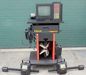 Bear 60 2500 Auto Car Repair Shop Wheel Alignment Machine Tool Snap on CCD