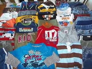 Huge 41pc Baby Toddler Boy Fall Winter Clothes Lot 12M 12 18M 18M Gymboree