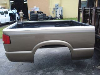 Fleet Side 6 ft Bed Chevy S10 Truck GMC Sonoma Brown Fits 98 03 U Pick Up in FL