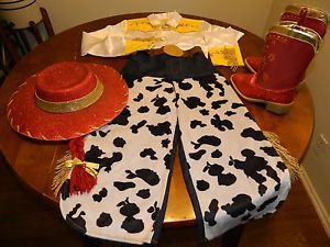 Disney's Toy Story Jessie Costume Authentic  Child 7 8 Halloween