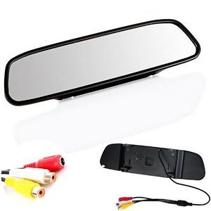 "4 3"" Screen TFT Car LCD Rear View Rearview Mirror Monitor for DVD Camera VCR"