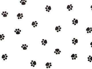 Dog Cat Black Paw Print Cello Cellophane Party Favor Goodie Treats Bags 100 Lots