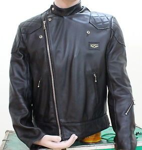 Mint Original Aviakit Super Monza Leather Jacket Lewis Leathers Motorcycle BSA