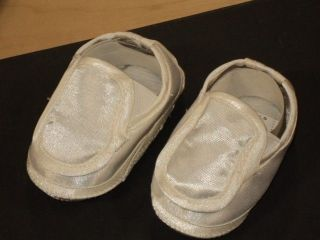 Baby Boys White Christening Baptism Shoes 223 Size 0