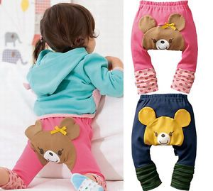1pc Kid Toddler Boy Girl Baby Leggings Tights Leg Socks Pants PP Pants Trousers