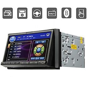 "For Sale 7"" in Dash Car Stereo DVD CD  Player Monitor Am FM Bluetooth iPod SD"
