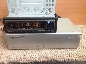 Cheap Car Radio Stereo Kenwood Headunit with 10 Disc CD Changer Complete Set Up