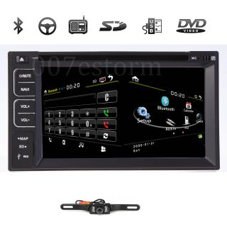 "Cool 2 DIN 6 2"" in Dash LCD Car DVD Player Bluetooth Touch Screen"