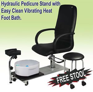 Pedicure Unit Station Chair Foot Spa Salon Equipment