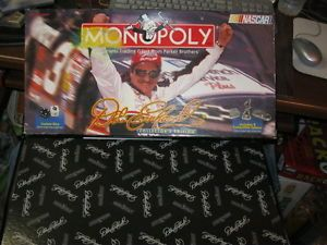 Dale Earnhardt SR Collectors Edition Monopoly NASCAR 3 Custom Dice SEALED Pcs