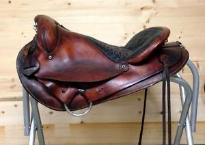 "Easy Rider Western Trail Endurance Saddle 16"" Seat Light Weight"