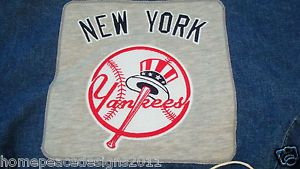 Pottery Barn Kids Anywhere Chair Denim Slipcover New York Yankees
