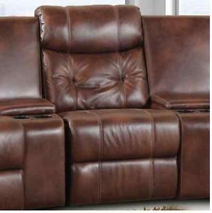 Leather Home Theater Seating Recliner Console Sectional USA Made Chair Sofa