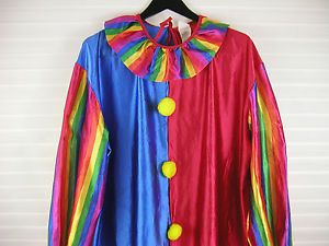 Adult Men Disguise Clown Costume