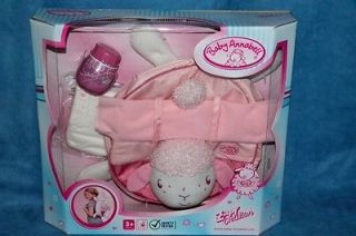 Changing Bag for Baby  annabell Backpack Set Bag  doll Zapf Creation New