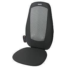 Homedics SBM 179H Shiatsu Chair Cushion Full Back Massage Massaging with Heat