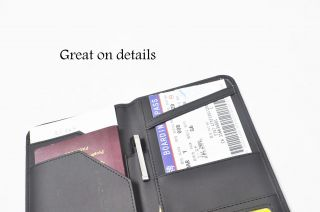 Passport Holder Wallet Travel Document Bag Organizer