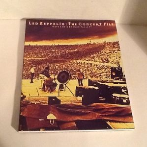 LED Zeppelin Concert Documentary by Dave Lewis and Simon Pallett 1997 Paperb