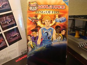 Hot Wheels World Race VHS Ring of Fire