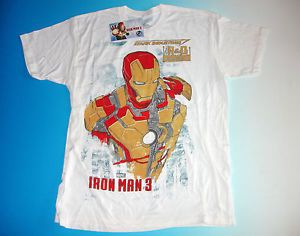 Iron Man 3 Stark Industries T Shirt Size Large Avengers Research Development R D