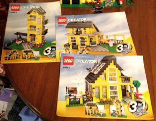 Lego Creator 4996 Beach House 3 in 1 Set Complete