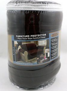 TexStyle Sofa Furniture Protector Slipcover Chocolate SPC 488 Choc Brown 92""