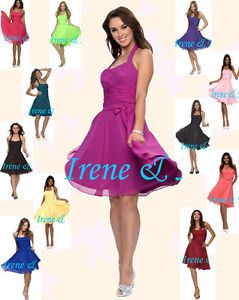 New Elegant Lovely Lady Colorful Bridesmaid Wedding Party Dress co08002 US 4 18