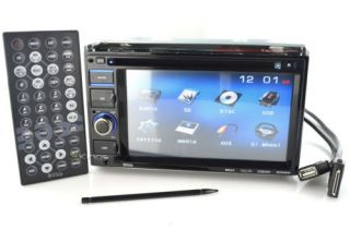 "New Boss Audio BV9356I 6 2"" Widescreen Touchscreen Double DIN Car Audio Receiver"