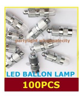100x LED Party Lights for Paper Lanterns Balloons Floral Decoration Light