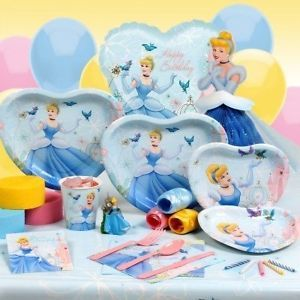 Cinderella Disney Princess Birthday Party Supplies Pick What You Need