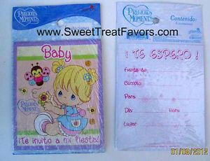 Precious Moments Party Birthday Invitations 24 Supplies Baby Shower Girl Boy SPN